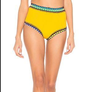 Kiini - ro high waisted bikini bottom